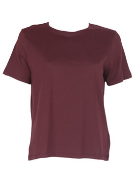 Tricou ZARA Gabriella Dark Purple