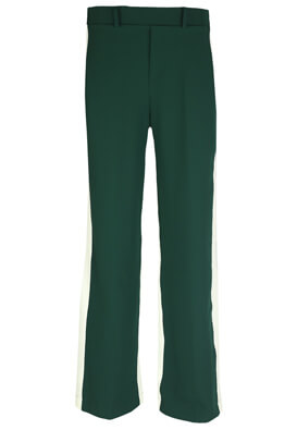 Pantaloni Bershka Victoria Dark Green