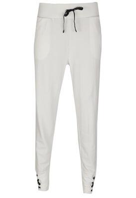Pantaloni sport Bershka Brigitte White