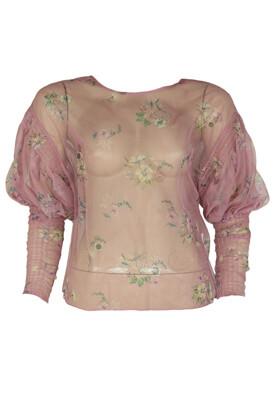 Bluza ZARA Flowers Pink