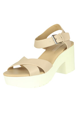 Sandale Stradivarius Erin Light Beige