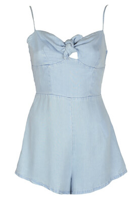 Salopeta Bershka Jane Light Blue