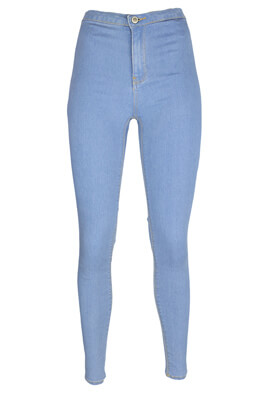 Blugi Bershka Anna Light Blue