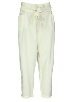Pantaloni ZARA Erika White