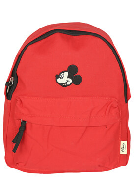 Ghiozdan Pull and Bear Mickey Mouse Red
