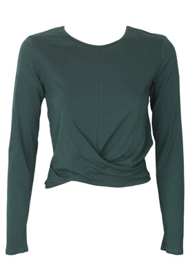 Bluza ZARA Julia Dark Green