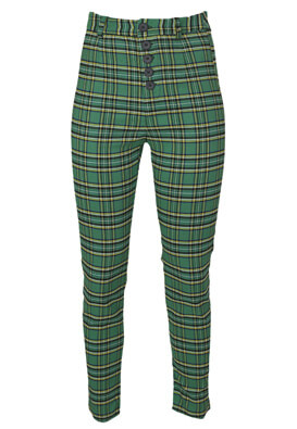 Pantaloni Bershka Petra Green