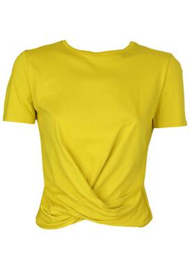 Tricou ZARA Gabriella Dark Yellow