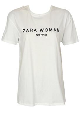 Tricou ZARA Donna White