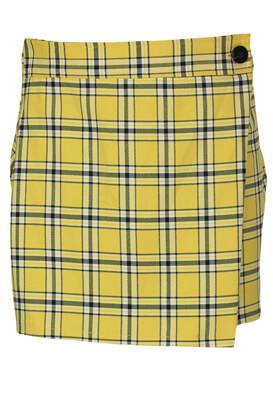 Fusta Bershka Kora Yellow