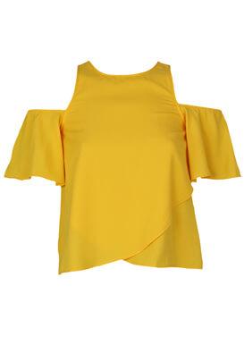 Tricou Bershka Gloria Yellow