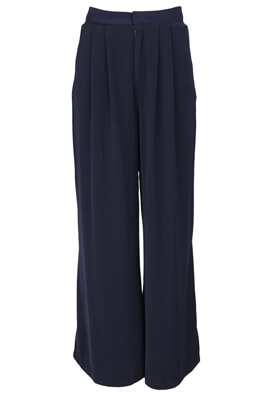 Pantaloni Stradivarius Julia Dark Blue