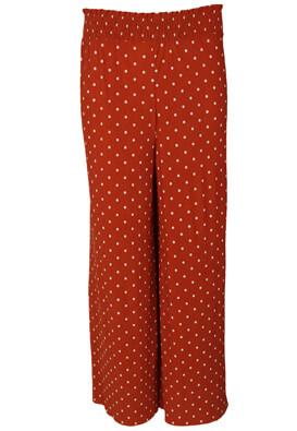 Pantaloni Bershka Yvonne Dark Red