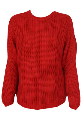 Pulover Bershka Shannon Red
