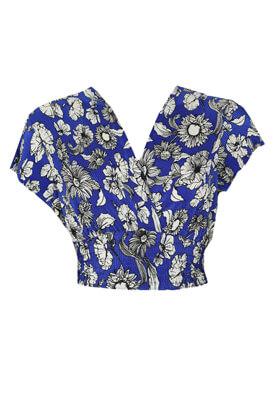 Tricou Bershka Nastasia Blue