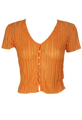 Tricou Bershka Sally Orange