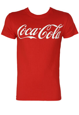 Tricou New Look Coke Red