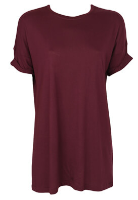 Tricou Bershka Heidi Dark Purple
