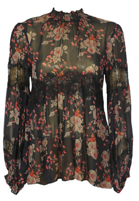 Bluza ZARA Floral Colors