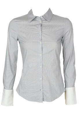 Camasa ZARA Gloria Light Grey