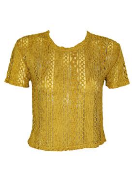 Tricou ZARA Fay Dark Yellow
