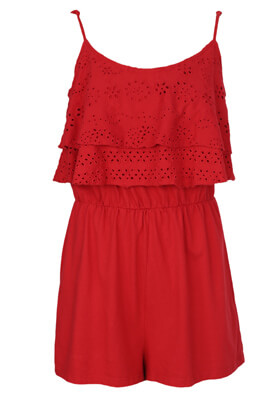 Salopeta Bershka Evelyn Red
