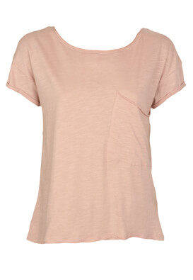 Tricou Stradivarius Yvonne Light Pink