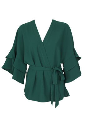 Bluza ZARA Destiny Dark Green