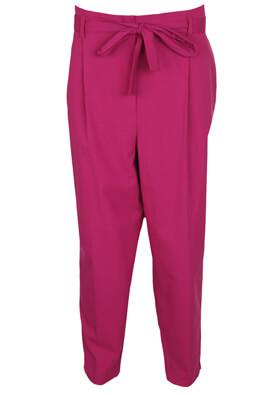 Pantaloni New Look Erin Dark Pink