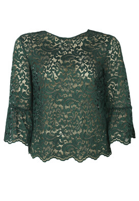 Bluza ZARA Sally Dark Green