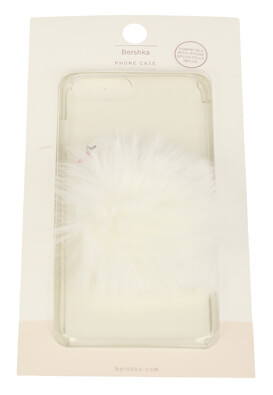 Husa telefon Bershka iPhone 6Plus/7Plus/8Plus White