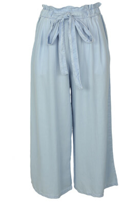 Pantaloni Bershka Brigitte Light Blue