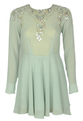 Rochie Glamorous Hanna Light Green