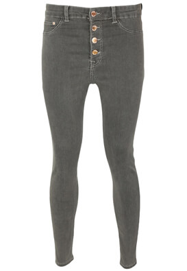 Blugi Bershka Georgia Dark Grey
