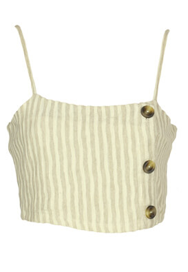 Top Pull and Bear Sabrina Light Beige