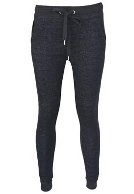 Pantaloni sport Bershka Paula Dark Blue