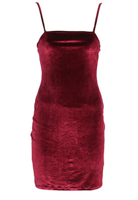 Rochie Pull and Bear Roxanne Dark Red