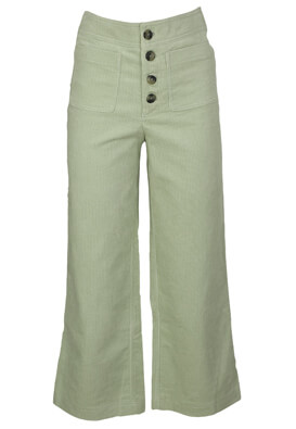 Pantaloni ZARA Wendy Light Green