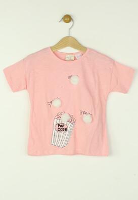 Tricou ZARA Paula Light Pink