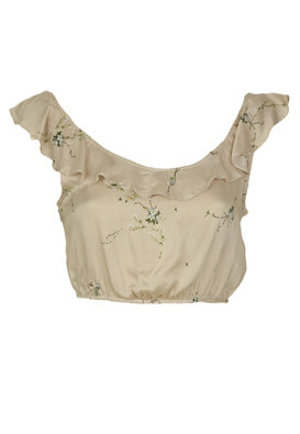 Top Pull and Bear Jane Light Beige