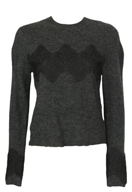 Pulover ZARA Elisa Dark Grey