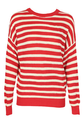 Bluza Pull and Bear Beatrice Red
