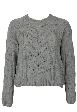 Pulover Pull and Bear Fiona Grey