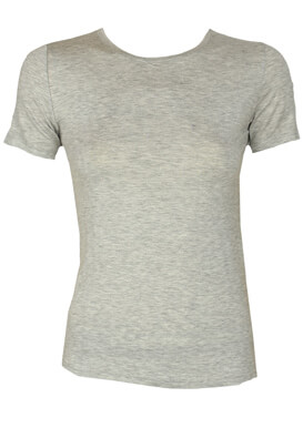 Tricou ZARA Basic Light Grey