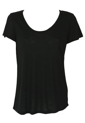 Tricou Reserved Daisy Black