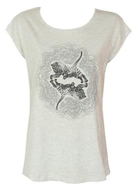 Tricou Reserved Julia Light Grey