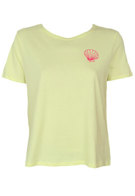 Tricou Reserved Paula Light Yellow