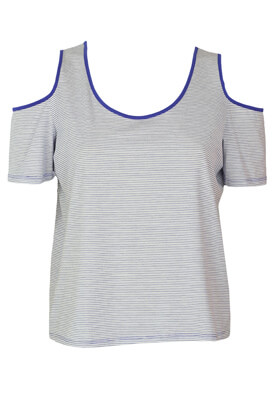 Tricou Reserved Elle Light Blue