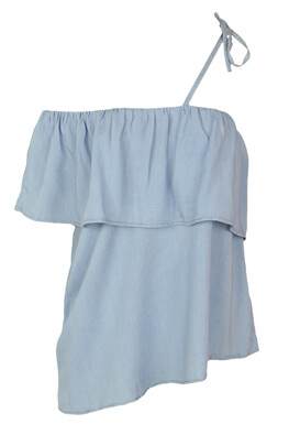 Top Reserved Wendy Light Blue