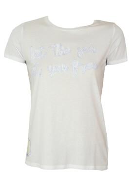 Tricou Reserved Mireille White